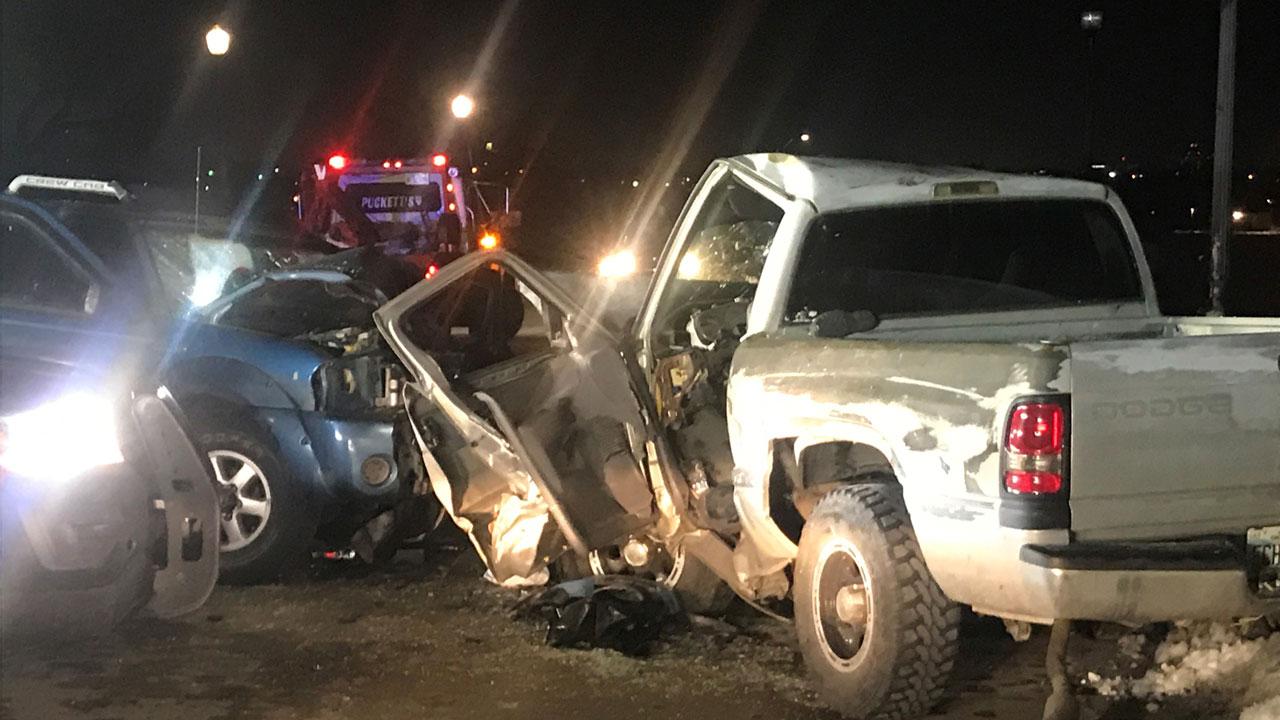 1 Person Hospitalized After OKC Crash
