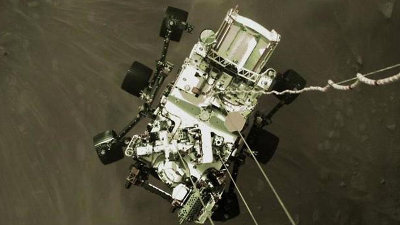 Mars Rover Perseverance Beams Back Dramatic Landing Selfie