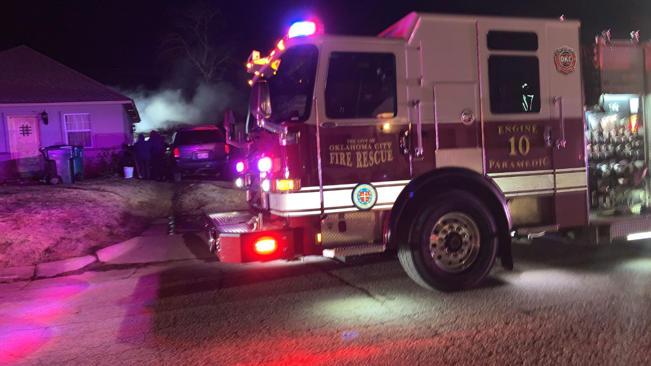 Firefighters Respond To NW OKC House Fire