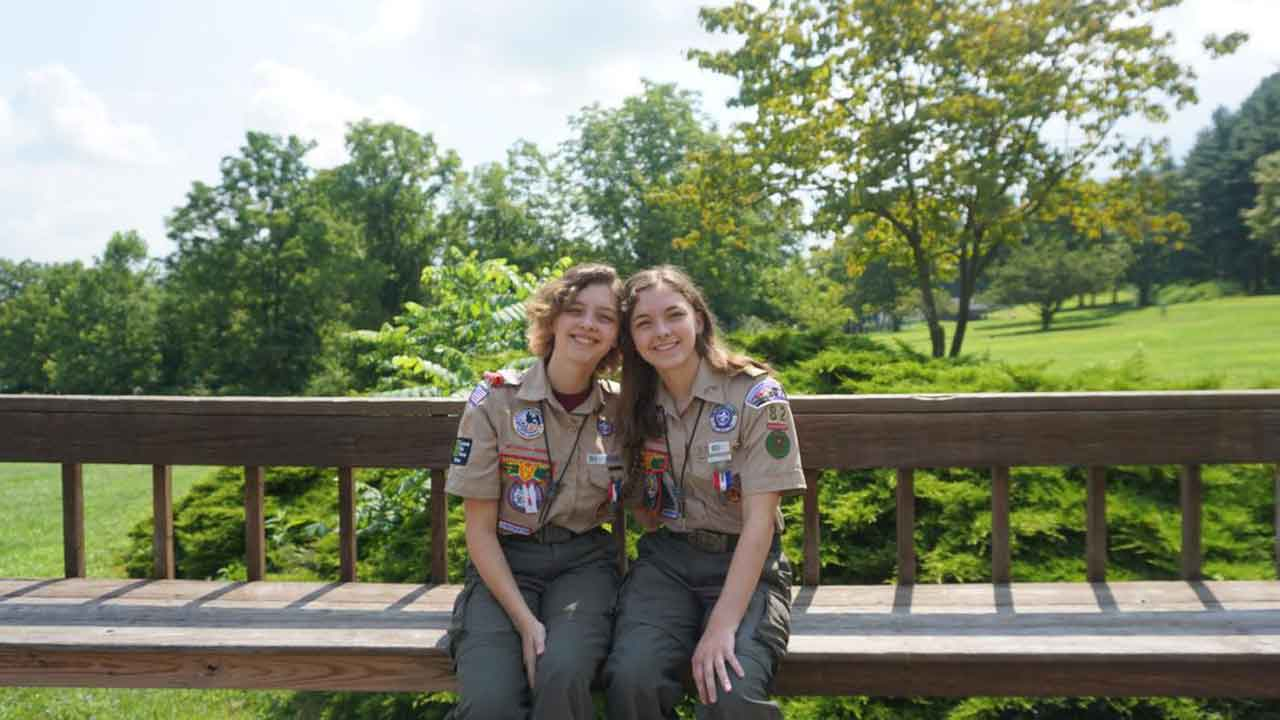 Nearly 1,000 Girls Become 1st Female Eagle Scouts