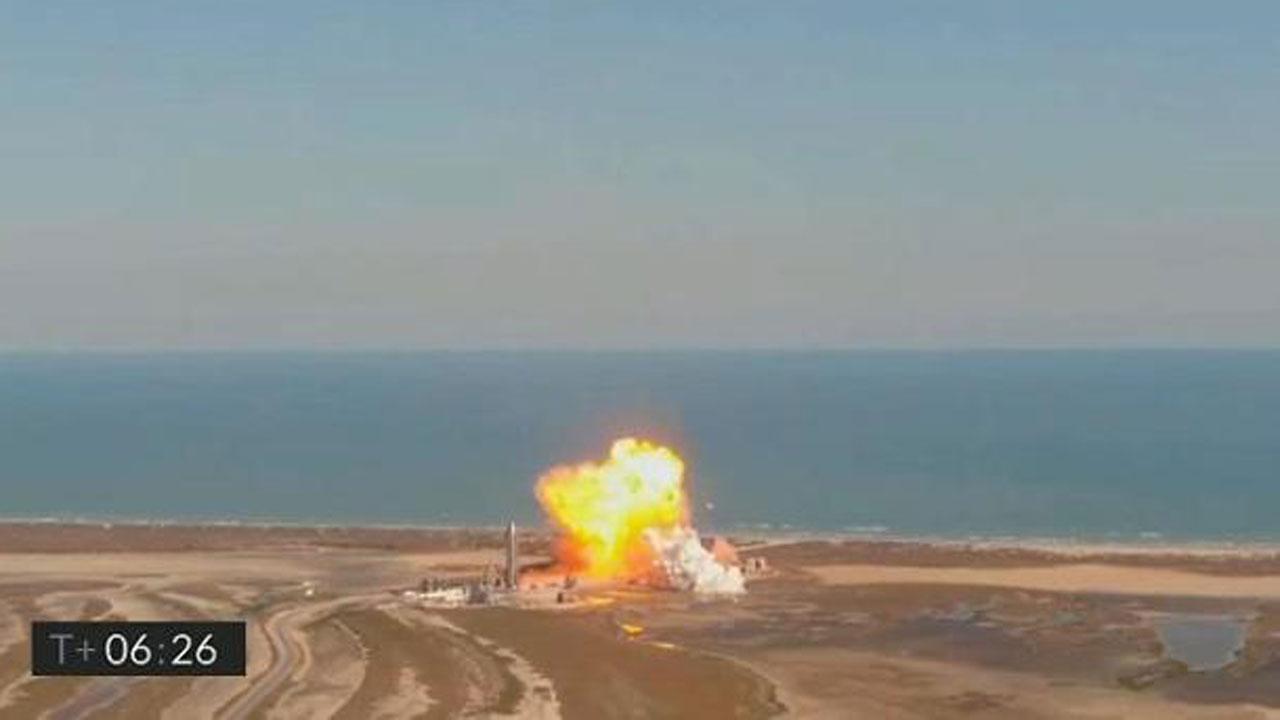 SpaceX Crash