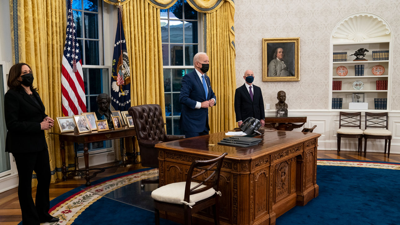 AP-NORC Poll: Americans Open To Biden's Approach To Crises