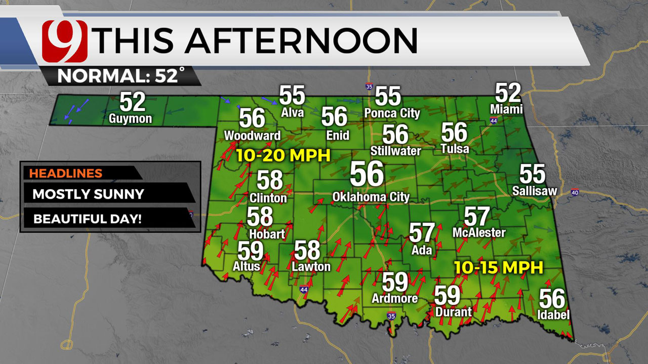 Beautiful Friday Ahead Of Strong Weekend Cold Front