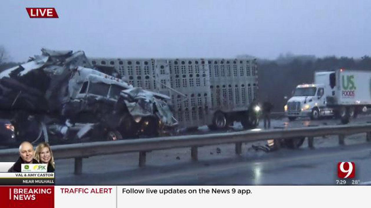I-35 Crash