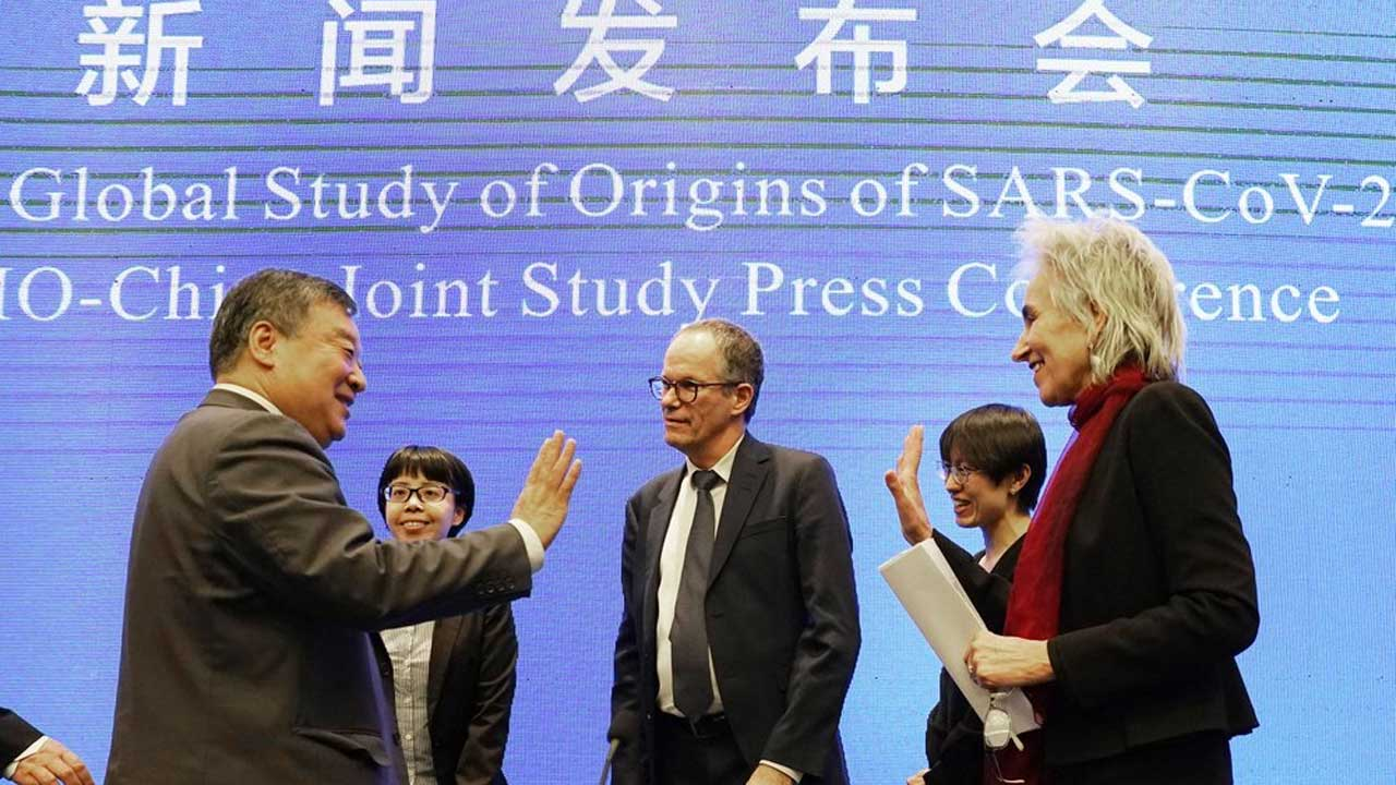 WHO Team: Coronavirus Unlikely To Have Leaked From China Lab