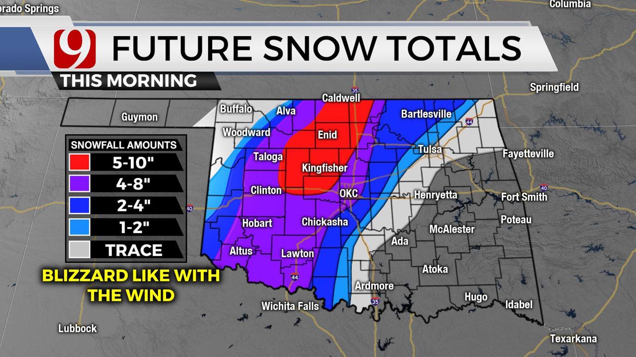 Future Snow Totals