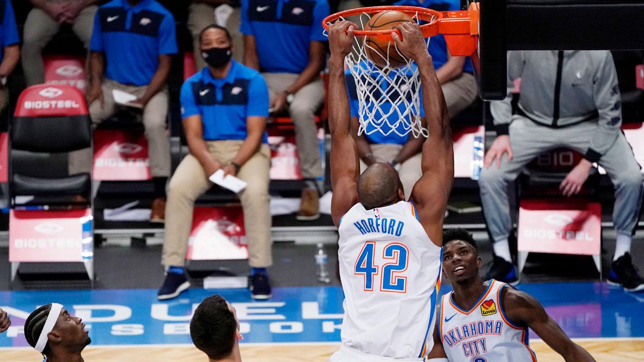 Horford dunk vs. Brooklyn Jan. 10, 2021