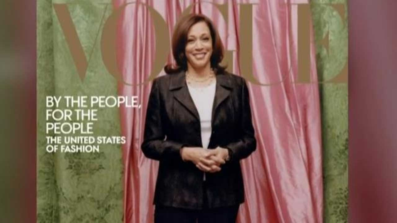 Controversy Surrounds Kamala Harris' First Vogue Cover
