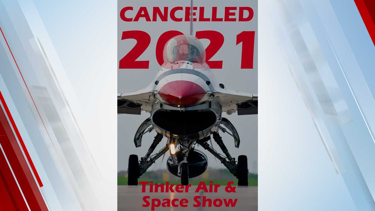 Tinker Air & Space show canceled