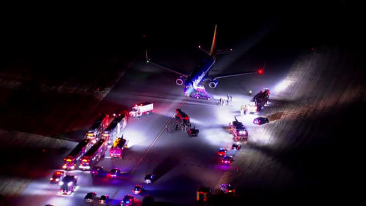 Southwest Flight Diverted After Crew Finds 'Suspicious Message'