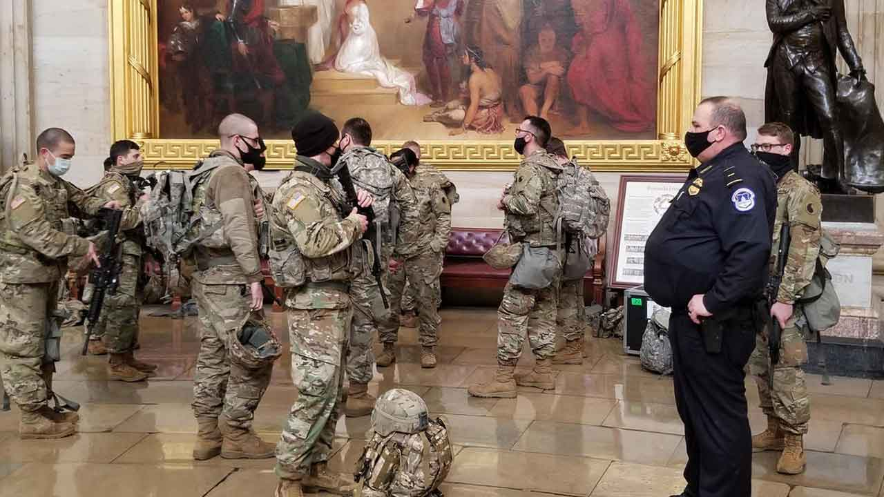 Oklahoma National Guard Sending Troops To US Capitol To Support 59th Presidential Inauguration