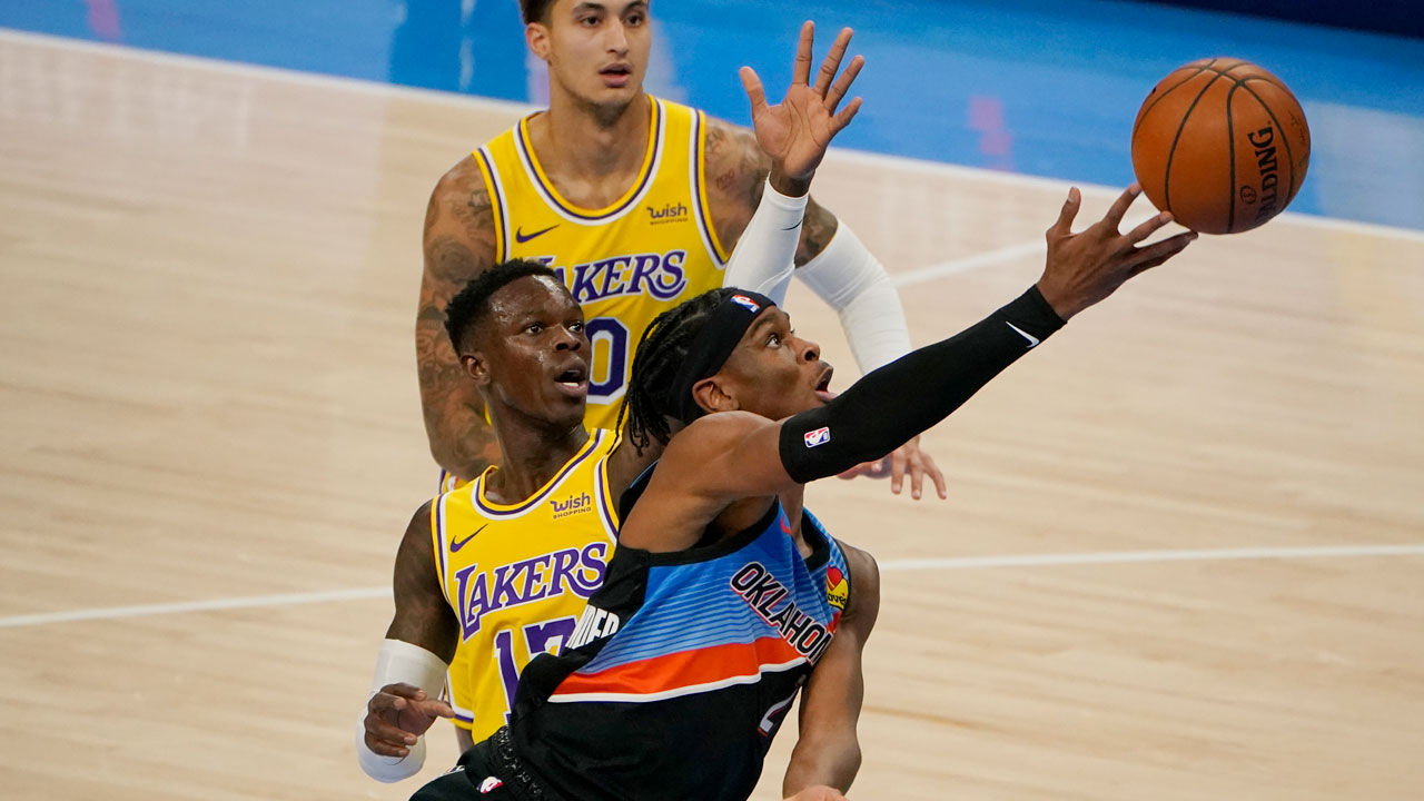 3 Thunder Takeaways: Defending Champion Lakers Climb The 'Peake, Beat Thunder