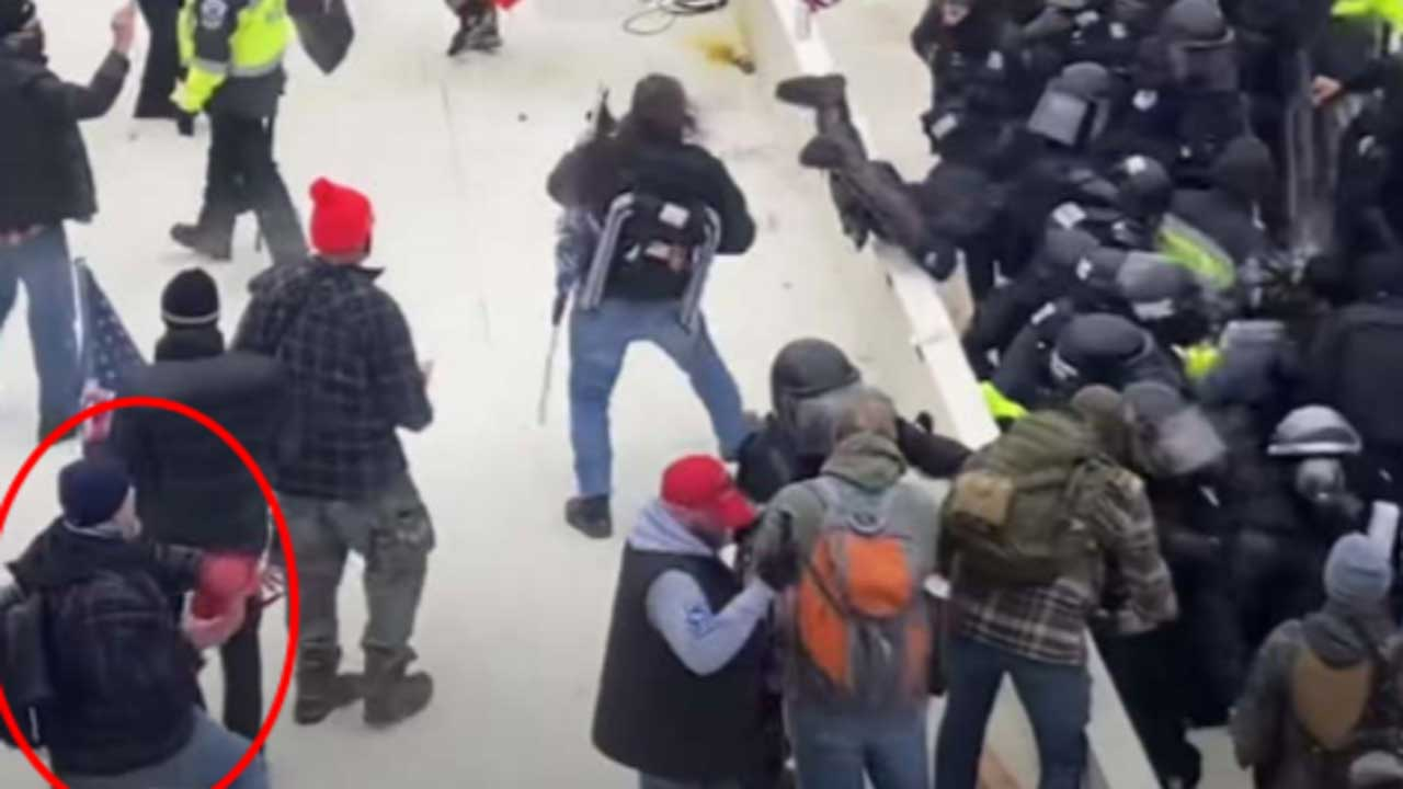 Retired Firefighter Charged With Throwing Fire Extinguisher At Officers During Capitol Riots
