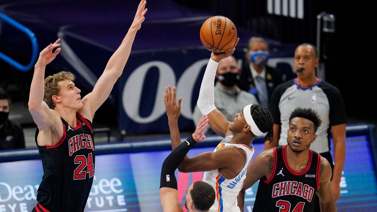 SGA vs. Chicago Bulls Jan. 15, 2021