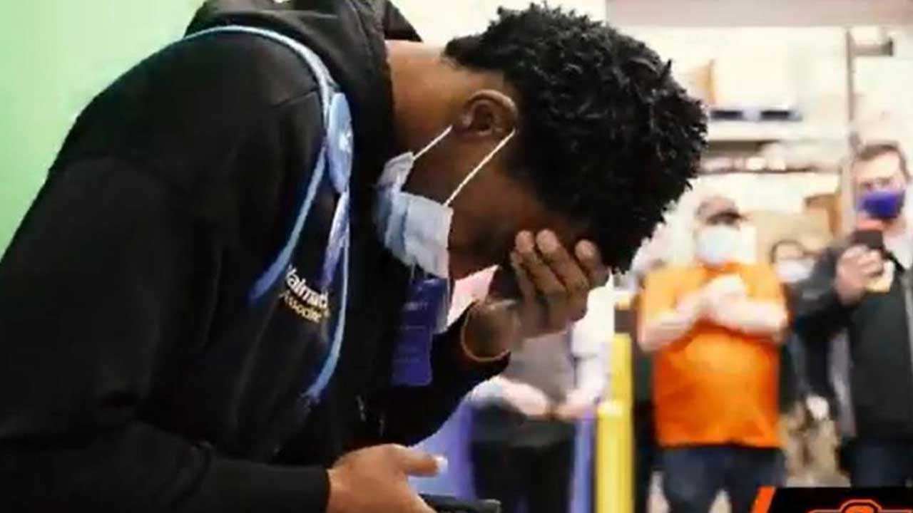 Oklahoma State Player Surprised With Scholarship While Working His Shift At Walmart