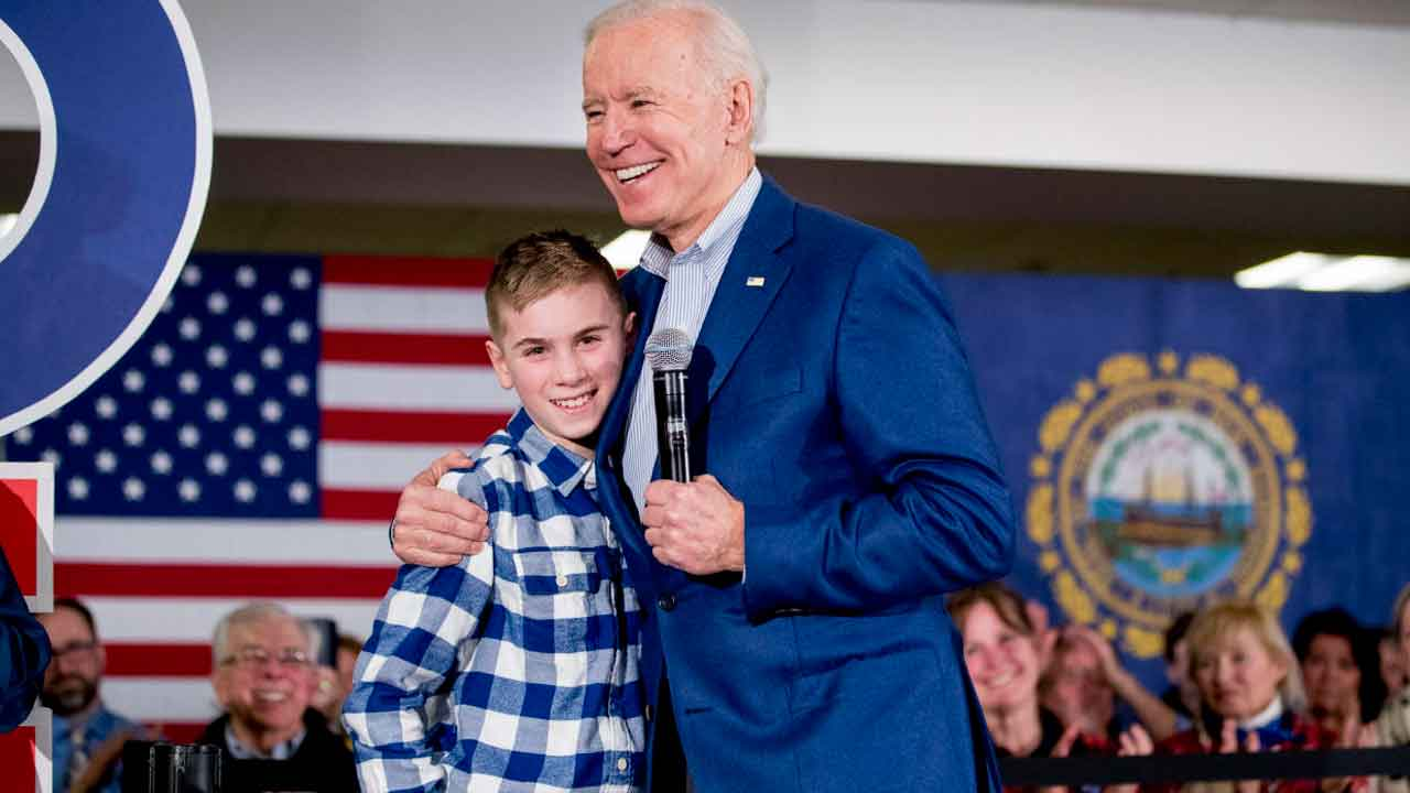 13-Year-Old Who Bonded With Joe Biden Over Stutter Has Book Deal