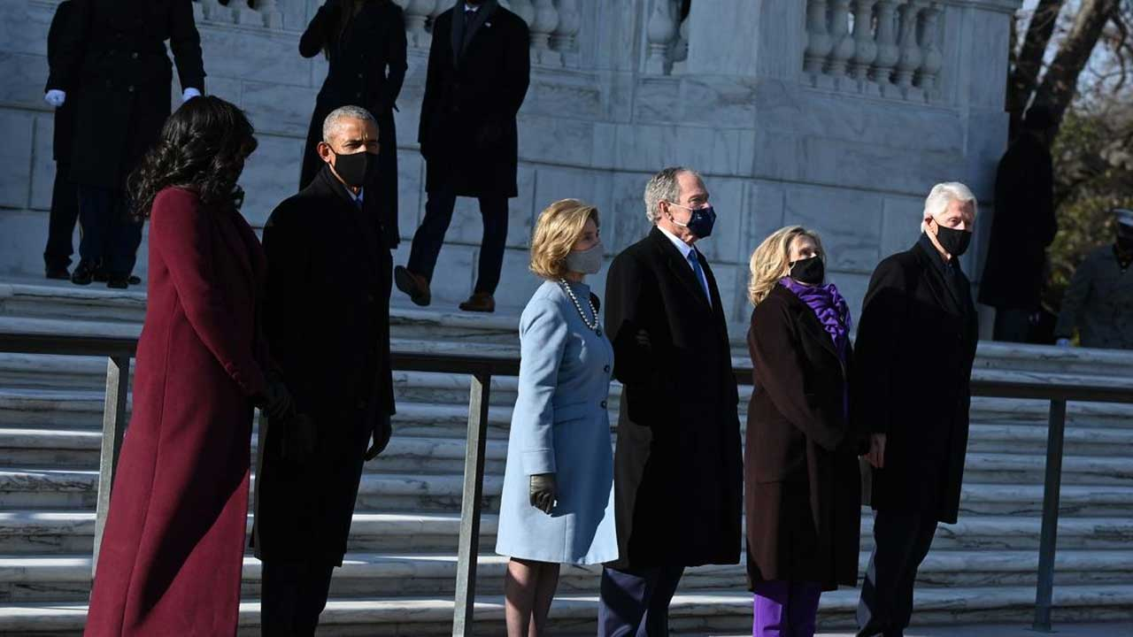 3 Former Presidents Urge Unity & Peaceful Transition Of Power In Inauguration Day Message
