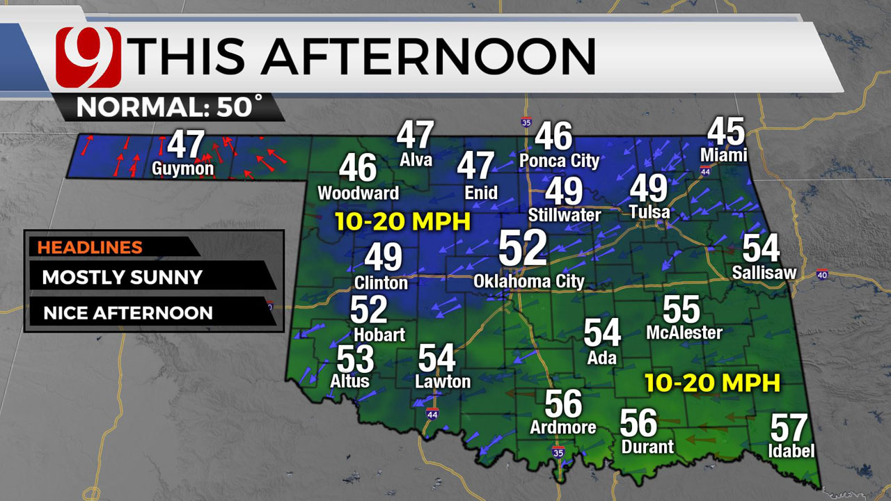 Beautiful Weather Friday Ahead Of Weekend Storm Chances