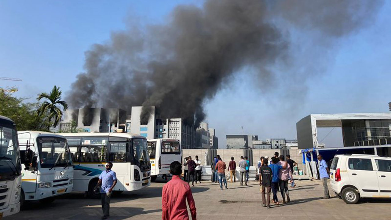 5 Killed In Blaze At Indian Producer Of COVID-19 Vaccine