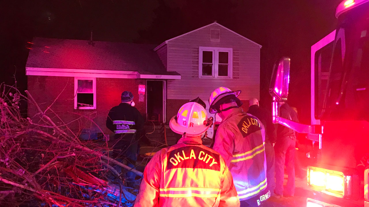 Firefighters Say Home 'Significantly Damaged' After NW OKC Fire