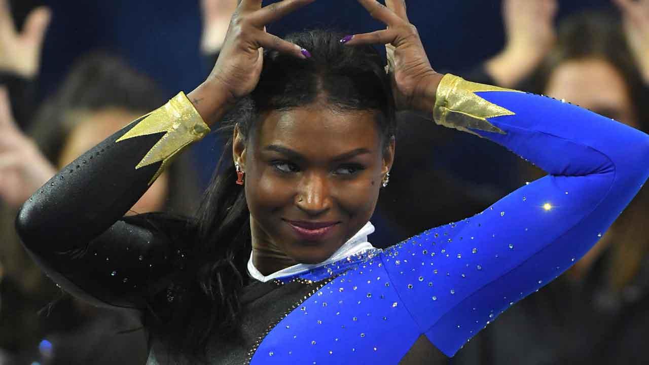 UCLA Gymnast Nia Dennis Celebrates 'Black Excellence' In Floor Routine That Went Viral