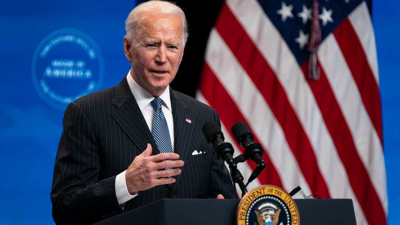 President Biden Anticipates Any American Who Wants The COVID Vaccine Can Get It 'This Spring'