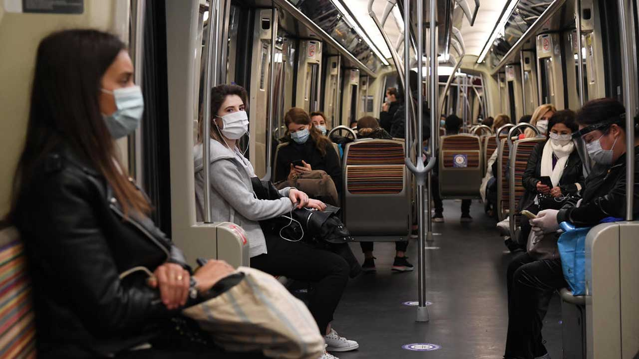 French Health Officials Urge No Talking On Public Transportation To Stop Virus Spread