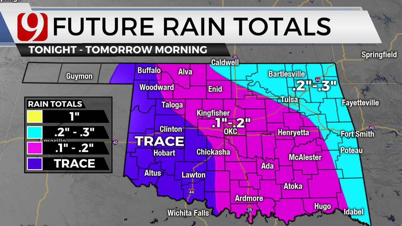 Okla. To See Rain, Storms, Heavy Wind & Fire Threat As We Head Into Weekend