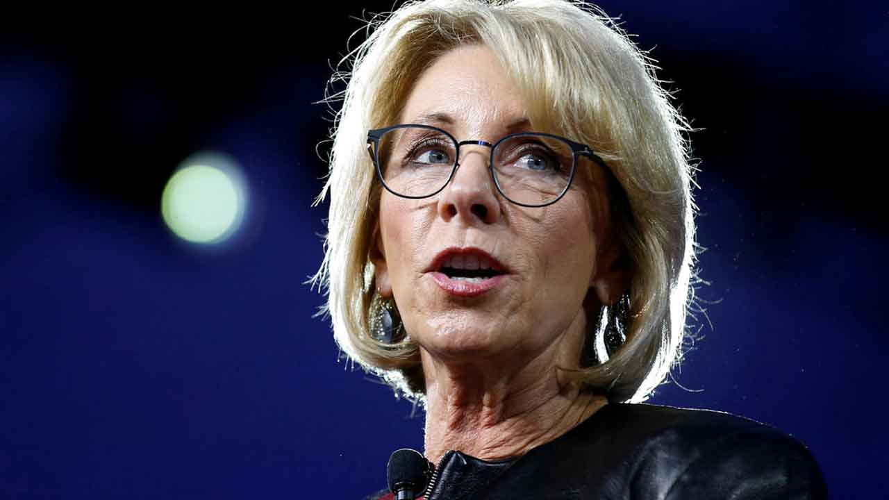 Betsy DeVos Urges Congress To Reject Student Loan Forgiveness