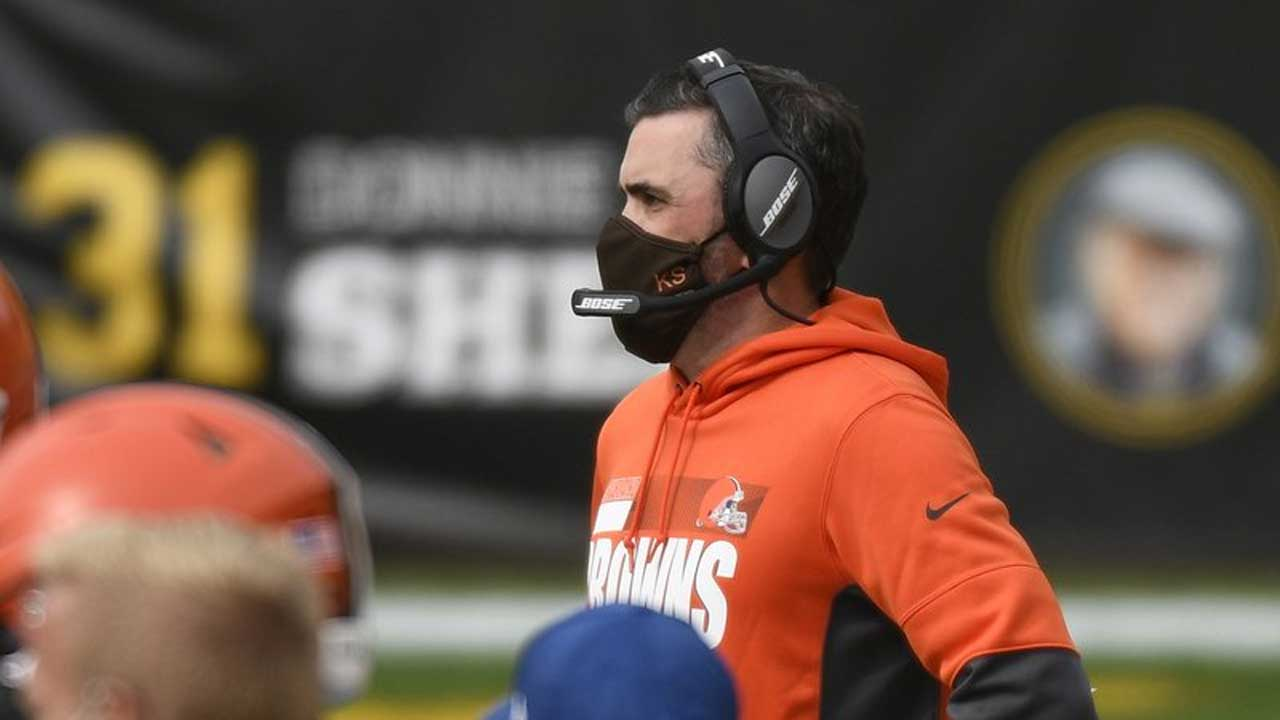 Browns Head Coach Kevin Stefanski Tests Positive For COVID-19, Will Miss Team's 1st Playoff Game Since 2002