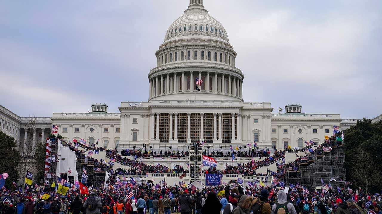 Explosive Device Found Near US Capitol Amid Protests