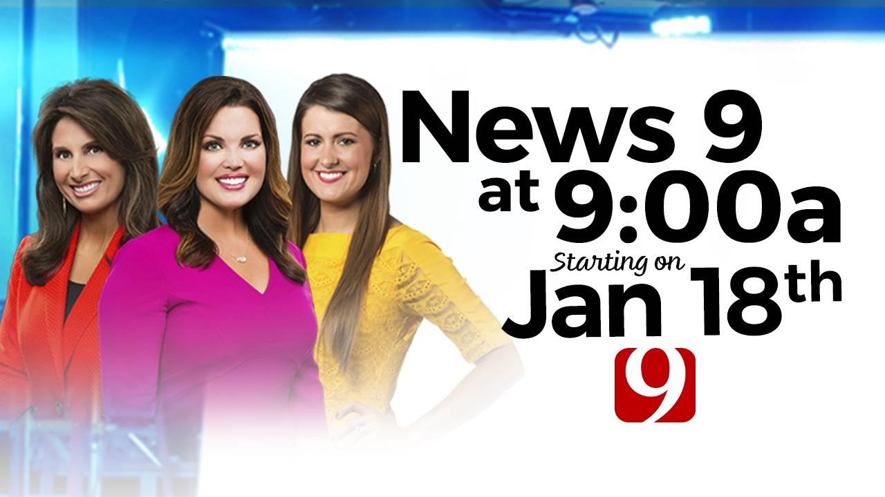 News 9's 9:00 A.M. Newscast Starts Monday