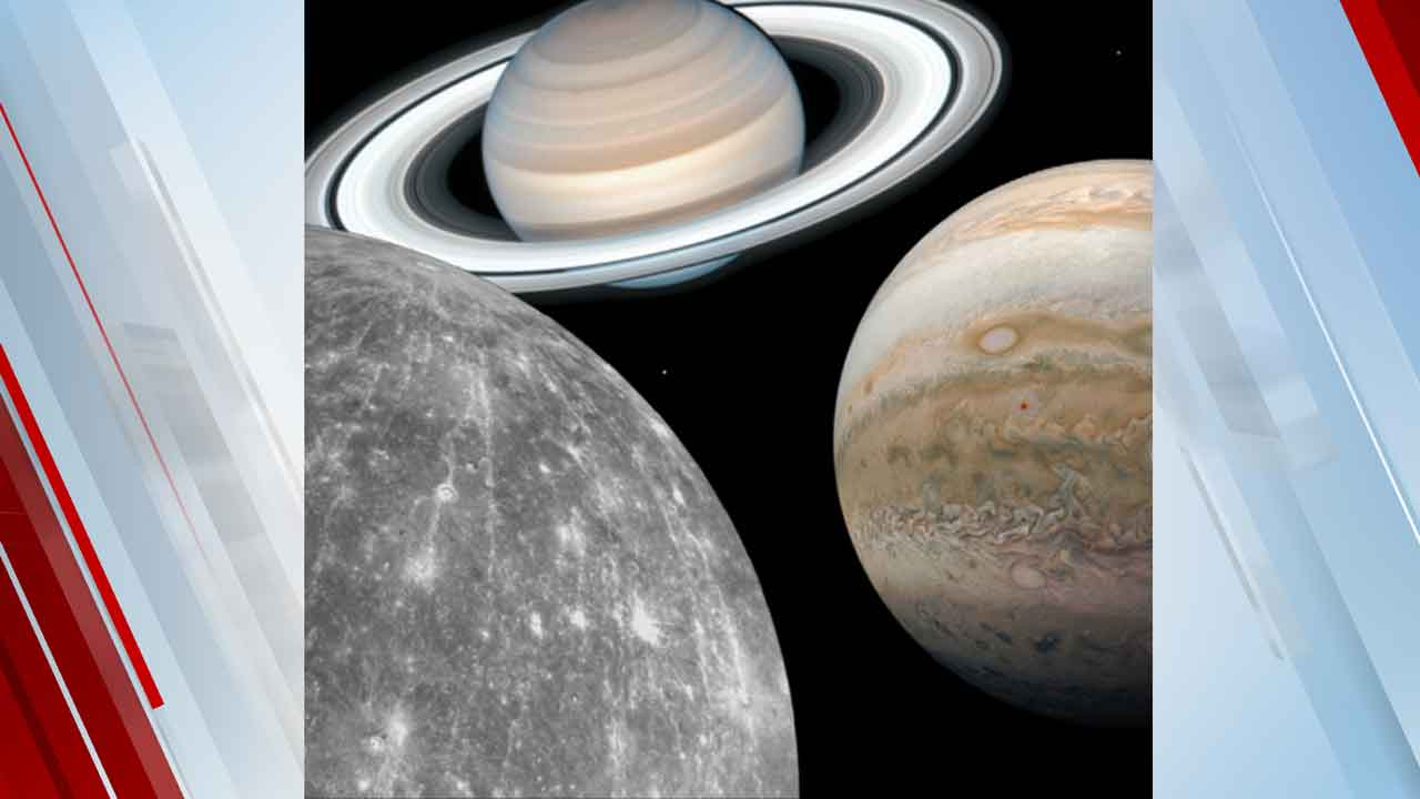 Rare 3-Planet Conjunction Of Mercury, Jupiter & Saturn To Illuminate The Sky This Weekend