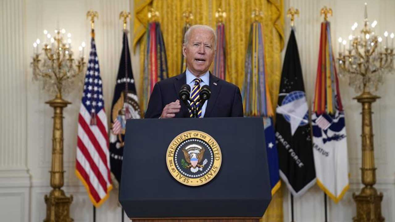 President Biden Says US War In Afghanistan Will End August 31