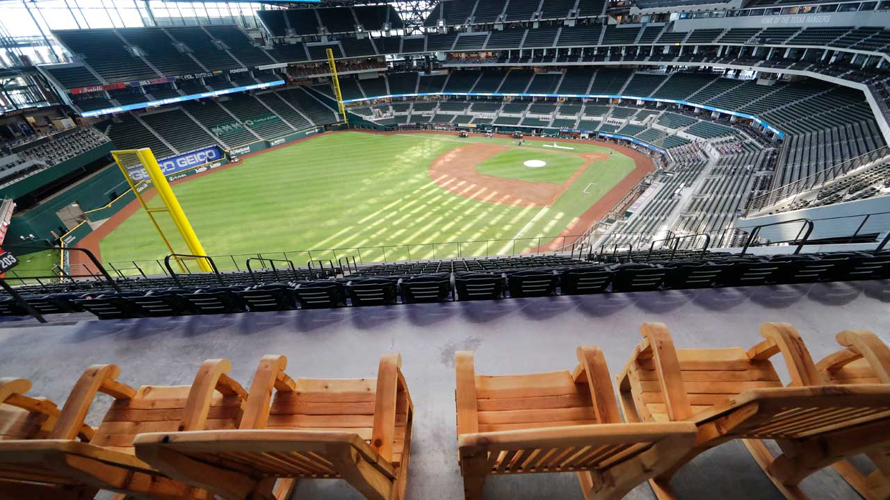 Texas Rangers Allowing 100% Capacity At Stadium For Opening Day