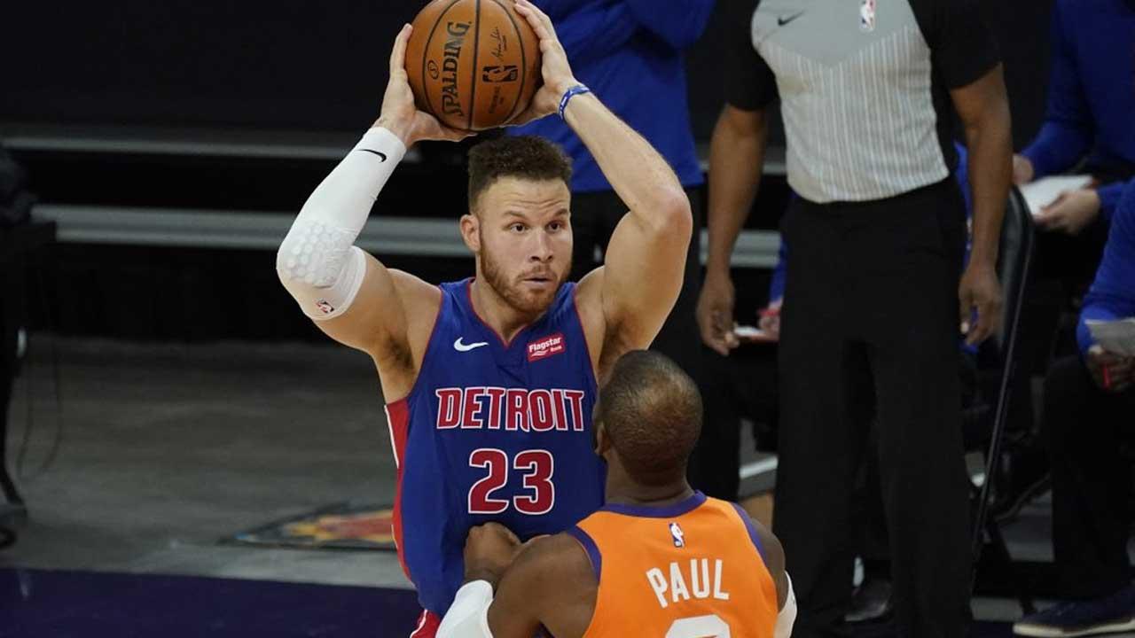 AP Source: Blake Griffin, Detroit Pistons Agree To Buyout