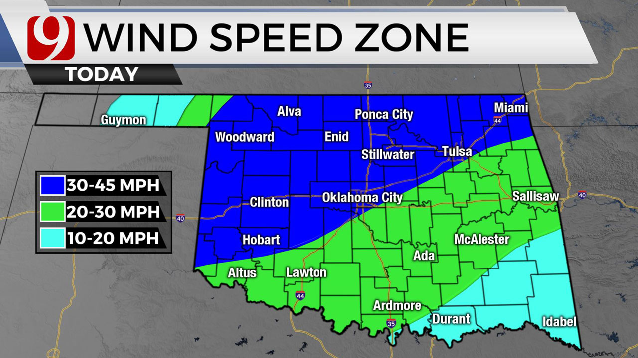 Okla. Sees Warm, Windy Tuesday With Fire Threat; Chance For Severe Storms End Of Week