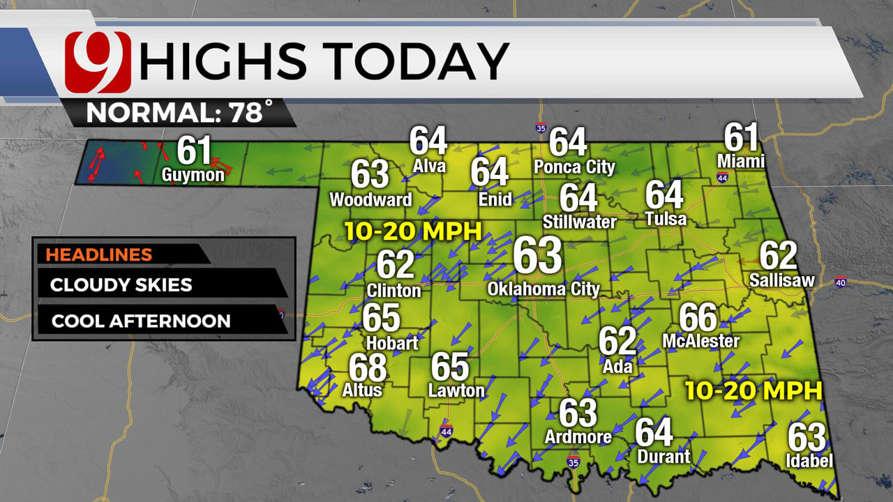 Unseasonably Cold Temperatures Will Continue Across The State