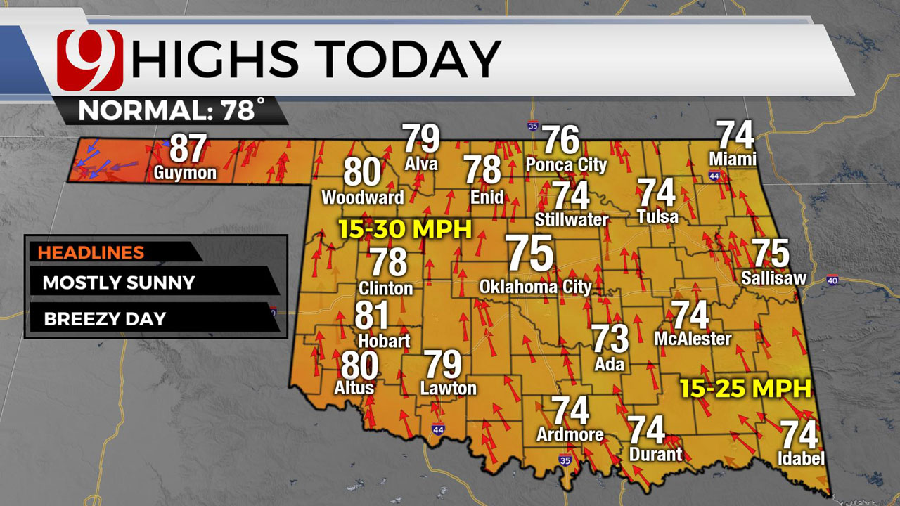 Rain Chances Increase Through Multiple Parts Of Okla., Storms Expected This Weekend As Well