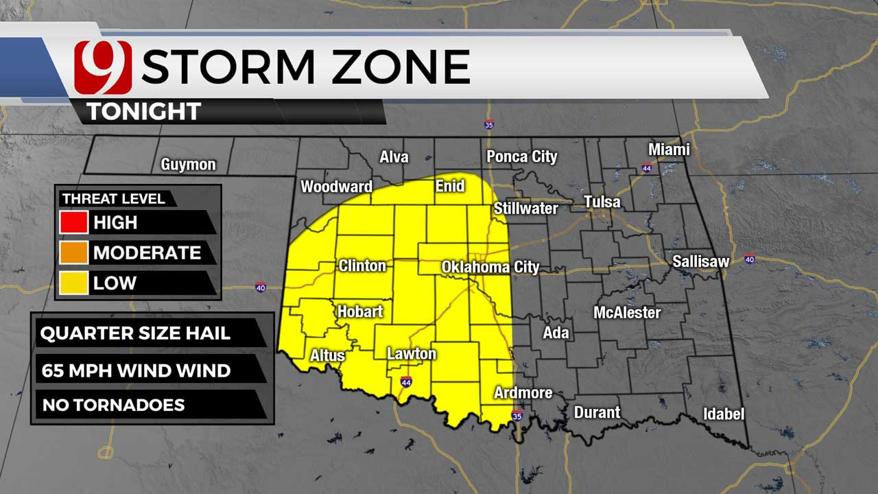 Storm zone for 5-25-21 night