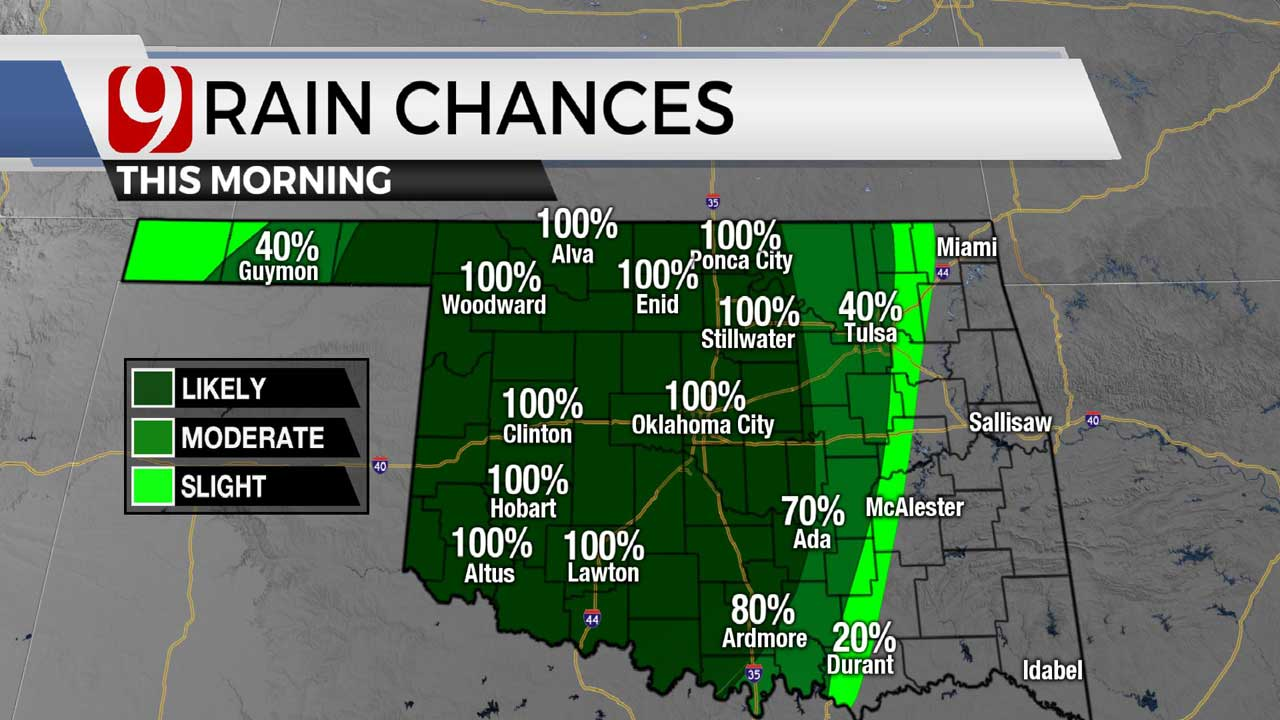 Storms Will Make For A Wet & Soggy Memorial Day In Oklahoma